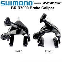 SHIMANO 105 Brake BR R7000 BR-R7000 Dual-Pivot Brake Caliper R7000 Road Bicycles Brake Caliper Front & Rear 5800