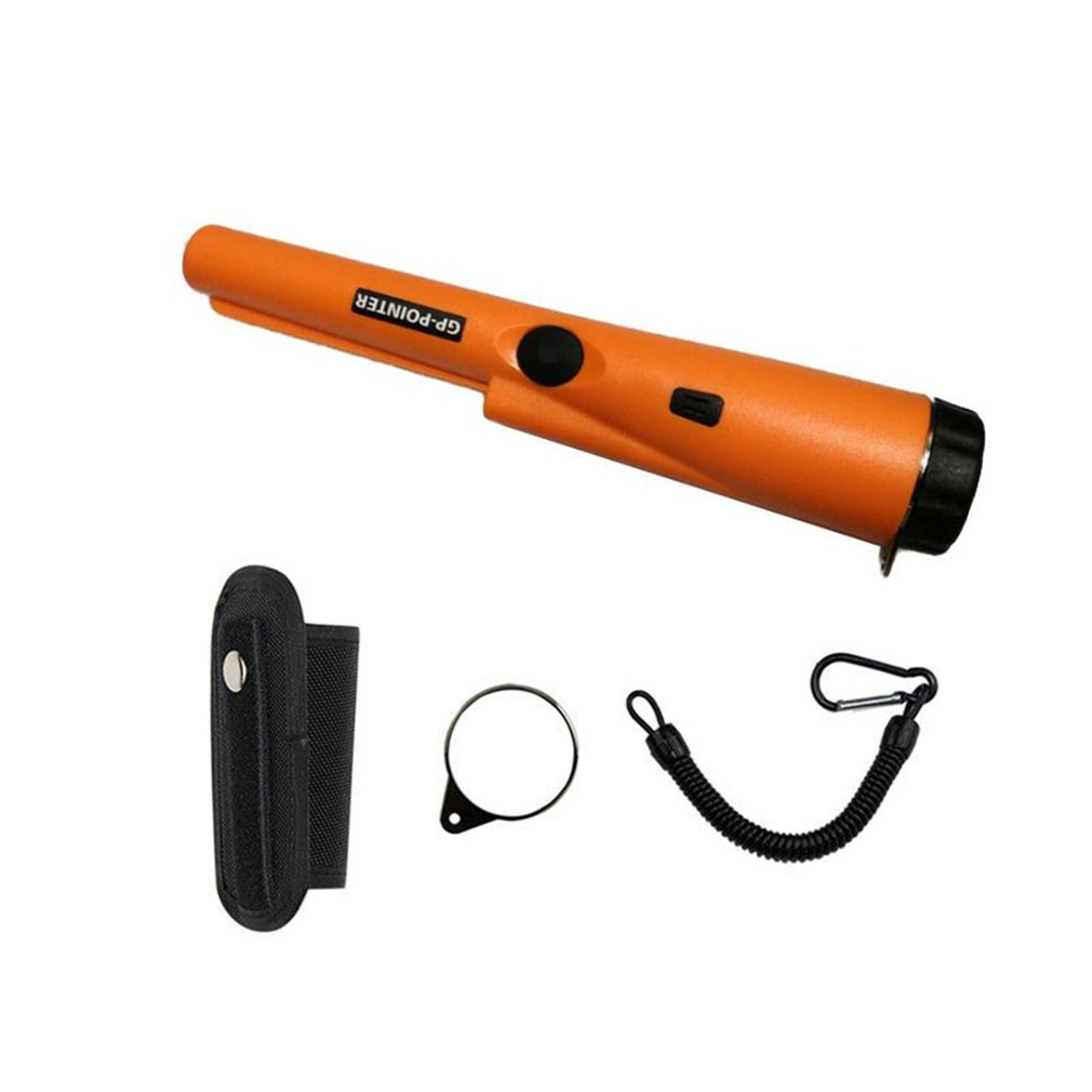 Metal Detector Pointer Pinpointing Cover GP-POINTER Hand Held Metal Detector Black Orange Green Color