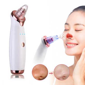Electric Vacuum Pore Cleaner Blackhead Remover Acne Black Head Blemish Remove Exfoliating Cleansing Facial Beauty Instrument
