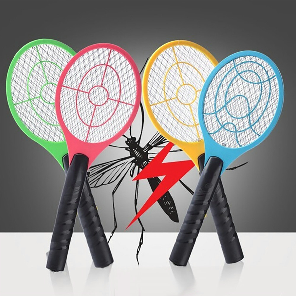 Electric Tennis Bat Handheld LED Bug Zapper Racket Home Garden Mosquito Fly Insect Bug Wasp Swatter Killer Insects #5 #10