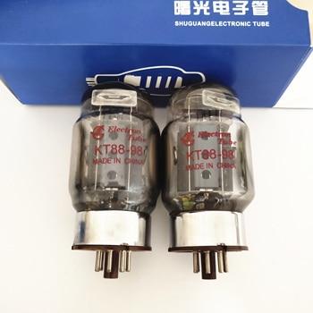 цена на Matched Pair KT88 Tube Red Base ShuGuang 6550 EL34 6L6 6CA7 KT100 HiFi Vacuum Tube Amplifier Psvane Mullard JJ EH New Tested
