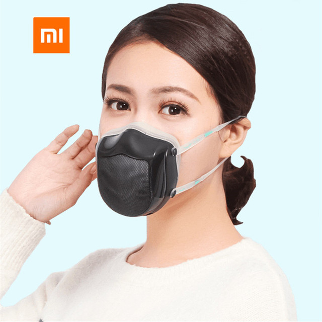 [spot] Xiaomi mijia original Q5s washable trend mask anti haze dustproof and breathable protection 4