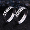 Аниме один кусок Луффи кольцо S925 Серебряный Косплей регулируемое Ювелирное кольцо подарок на Хэллоуин Acessory