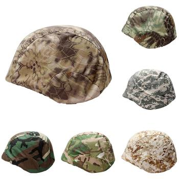 Outdoor CS Hunting Camouflage Breathable Helmet Inner Cap Cloth Cover for M88 Hunting image