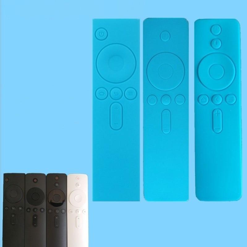 1PC 4a4c Remote Cases Soft Anti-Slip Rubber Dust Covers Silicone TPU Remote Control Covers Protective Case for TV Mi Box