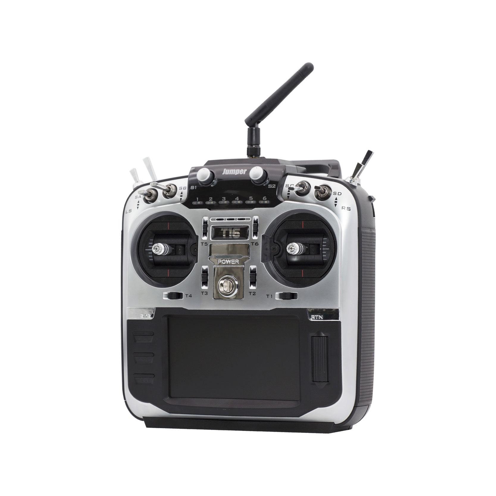 Jumper-XYZ T16 Pro Hall V2 Gimbal Open Source Multi-protocol Radio Transmitter JP4-in-1 RF Module 2.4G 16CH 4.3