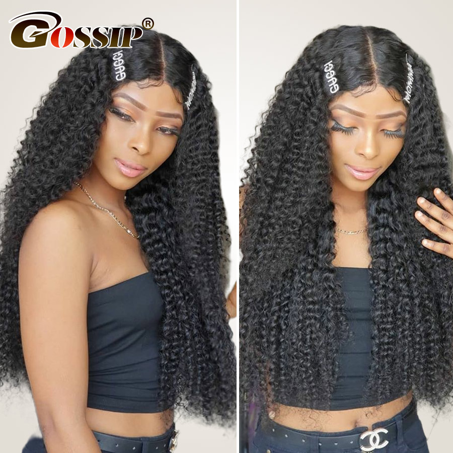 13x6 Lace Front Wig With Baby Hair Brazilian Human Hair Wigs For Black Women RemyHair Kinky Curly Wig 13x4 Lace Front Human Hair
