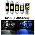 7 Pcs Auto Innen Weiß LED Glühbirne Paket Kit Für Chevy Chevrolet Malibu 2013 2014 2015 Karte Dome Lizenz lampe Zubehör