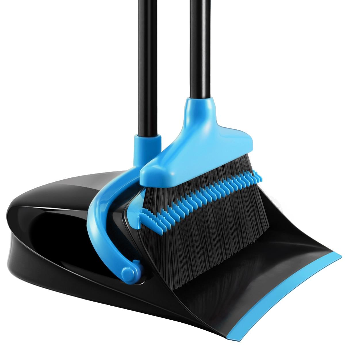 Швабра и щетка для пыли HOMEMAXS A50, комплект для уборки с толчкой руки, комбинированная, для офиса, 1 комплект
