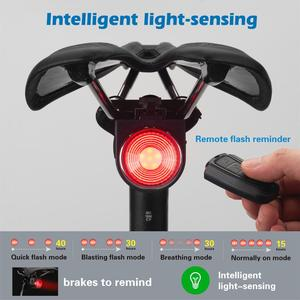 Smart Remote Alarm Bike Tailli