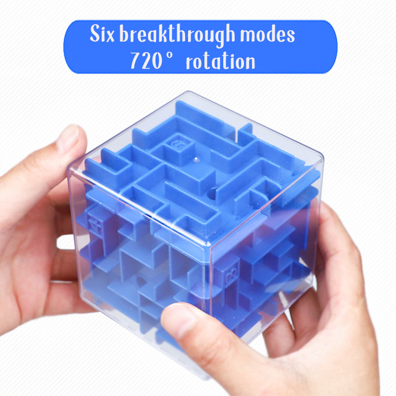 Fun Science And Education Relax Toys Antistress Children's Intelligence Maze Puzzle Educational Toy 3d Maze Gift For Children