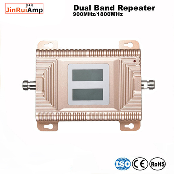 cellular repeater 2G 4G Dual Band GSM DCS 900/1800MHz Mobile Signal Booster Cell Phone Signal repeater amplifier  with LCD