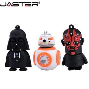 JASTER USB Pendrive Star Wars Yoda/Darth Vader Flash Drive 4GB 8GB 16GB 32GB 64GB Pen drive USB 2.0 Gifts Chiavetta USB Cle USB