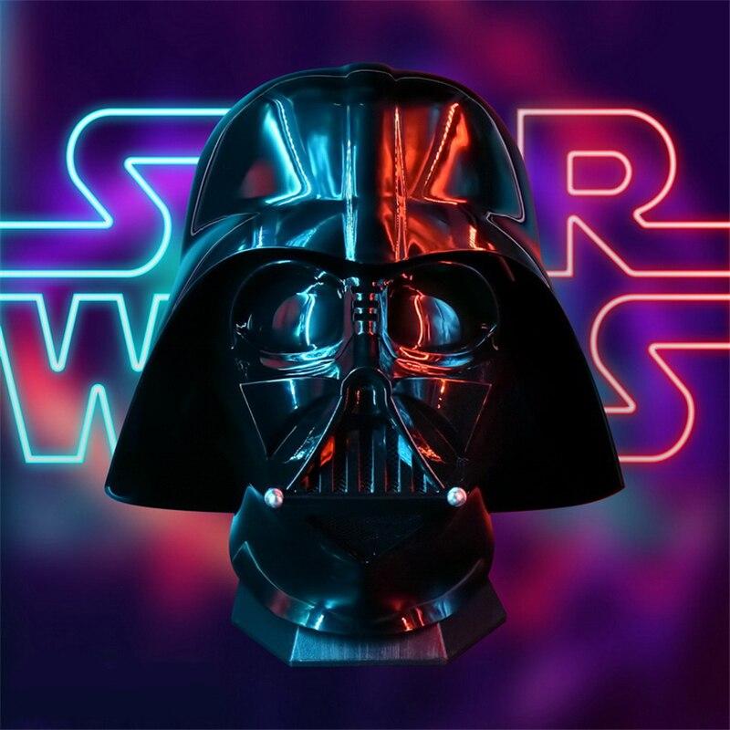 Nouveau Top qualité Anime Star Wars Dark vador Anakin Skywalker Cosplay masque noir foncé chevalier casque chapeaux PVC masques fête Halloween mascarade Costumes accessoires