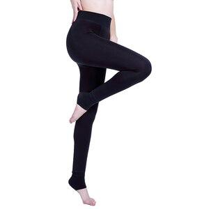 Image 3 - Pantalon chaud sans couture en cachemire inversé intégré, modèle Explosion mode automne et hiver, Plus épais en velours