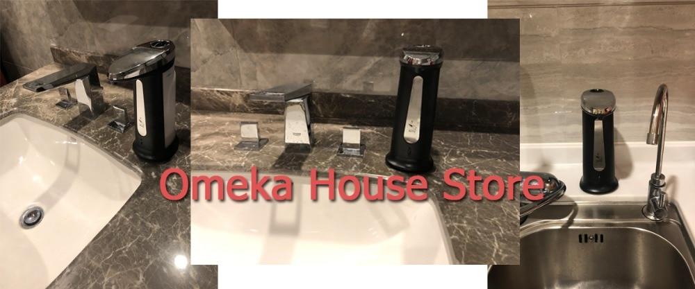 H92c95ce3284347f4aba3a844a199dba7I Liquid Soap Dispenser 400Ml Automatic Smart Sensor Touchless ABS Electroplated Sanitizer Dispensador Bottle for Kitchen Bathroom