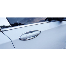 ABS Chrome For Chevrolet Cruze 2016 2017 2018 Accessories Car Door Protector Handle Bowl Cover Trim Sticker Car Styling 8Pcs abs chrome carbon fibre for toyota rav4 2019 accessories car door protector handle bowl cover trim sticker car styling 4pcs