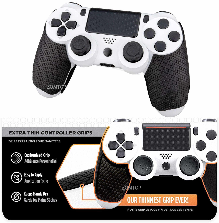 Anti-slip Smart Octopus Grip Sticker for PS4 Controller Joystick L R Set