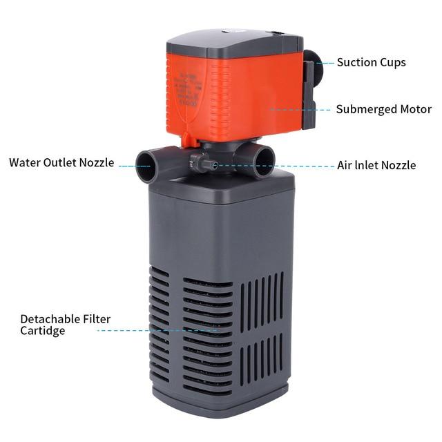Multifunction Aquarium Oxygen Water Pump And Filter 2