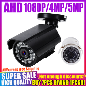 REAL SONY CHIP 720P 1080P 2MP 4MP 5MP AHD CAMERA Digital FULL HD CCTV Security Surveillance  Mini CAMERA Outdoor Waterproof IP66 owlcat sony full hd 2 0mp 1920 1080p license plate recognition lpr camera outdoor waterproof ip66 license plate capture camera