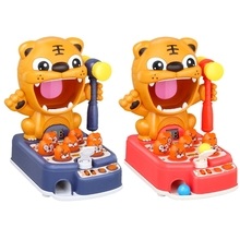 Tiger Hammering Hamster Interactive Learning Pounding Kids Children Puzzle Toy A2UB