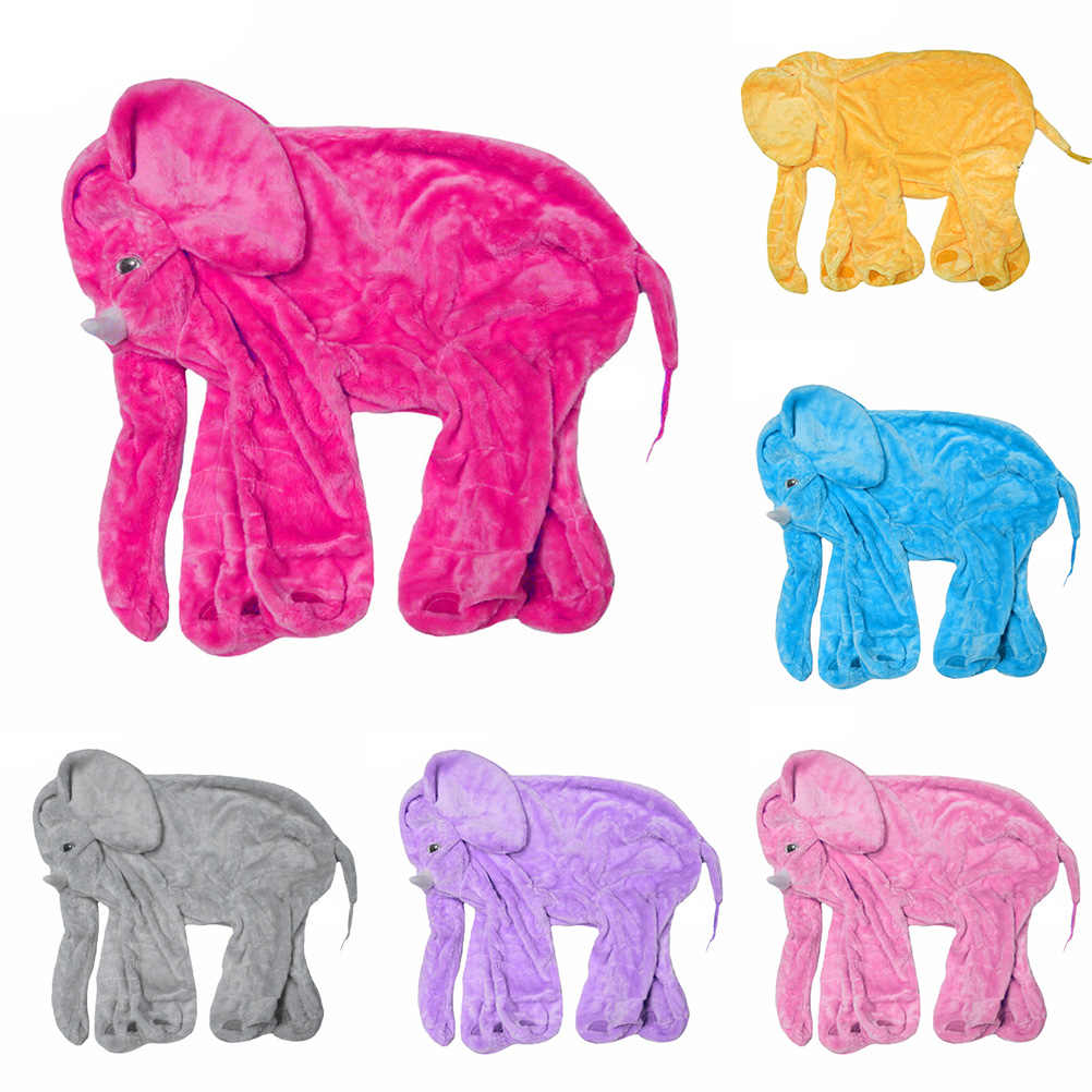 30 40 60cm 6 colors elephant skin plush soft toy diy pillow baby kids baby pillows no filling elephant pillow cover sleeping bag stuffed plush animals aliexpress