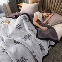 Tongdi cobertor luxuoso macio espesso, flanela pesada, elegante, ecológico, para decoração de sofá, cama, colcha, inverno