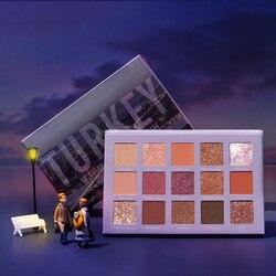 FOCALLURE Go travel Glitter Eyeshadow pallete professional shimmer powder high pigmented easy to wear Eye shadow palette