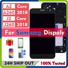 Original For Samsung Galaxy J2 Core A2 Core 2018 A260 J260 LCD Display With Touch Screen Digitizer Assembly For Samsung J2 LCD