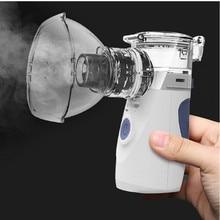 משאף Nebulizer נייד לאיפה כף יד קולי מהביל מכשירים רפואי ציוד תינוק בריאות טיפול ביתי