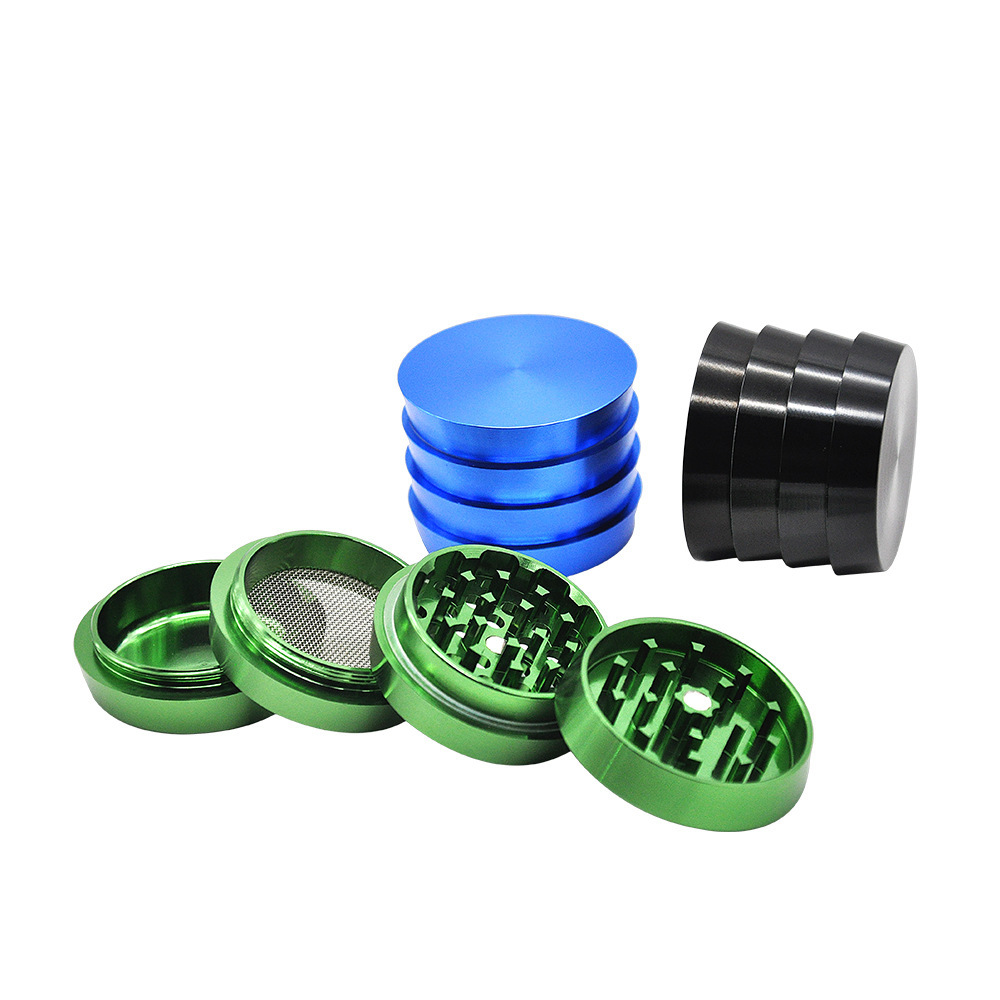 Multiple Colors Available Towel Shape Aluminum Herb Grinder Tobacco Grinder Spice Crusher Kitchen Grind Tool Hornet Grinder