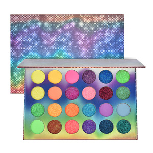 Neon Eyeshadow 24 Colors Palet