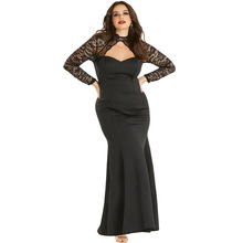 Women Long Sexy Plus Size Dress Mother of The Bride