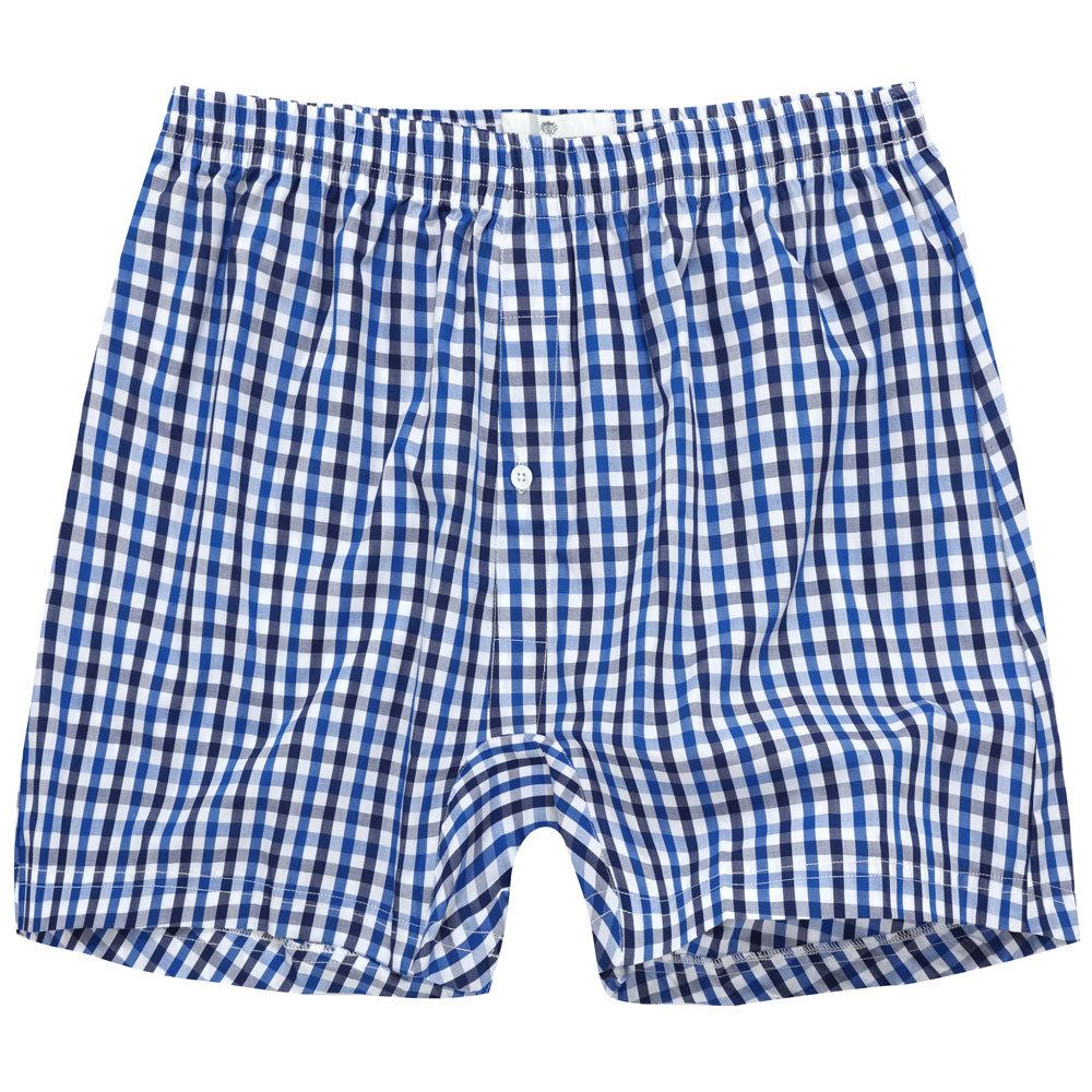 Futex Home Plaid Shorts Men's Multi-color Selectable Elastic Waist Of Trousers Boxers Place Of Origin Supply Of Goods