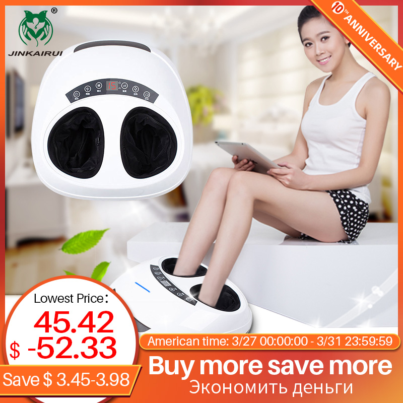 Jinkairui Winter Foot Massager Heating Kneading Scrapping Air Compress Best Gift Christmas New Year Whole Family Use Low Price