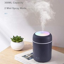 Humidifier Home-Aroma-Diffuser with Night-Light Large 300ml Cool Mini Portable