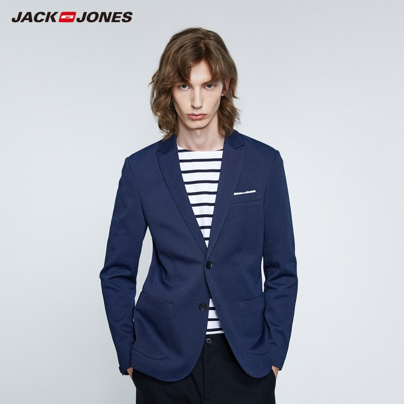 JackJones New Arrival Men's Slim Fit Business Suit Jacket Menswear| 219308505