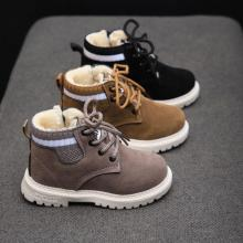 Martin Boots Boys Shoes Running-Shoes Autumn Winter Fashion Children Sport 21-30 Soft