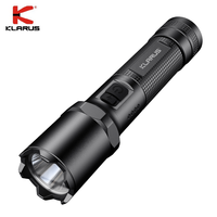 Klarus A1 Police Flashlight 1100LM LED Tactical Flashlight WithType C Charging for Self defense Weapon, Law Enforcement