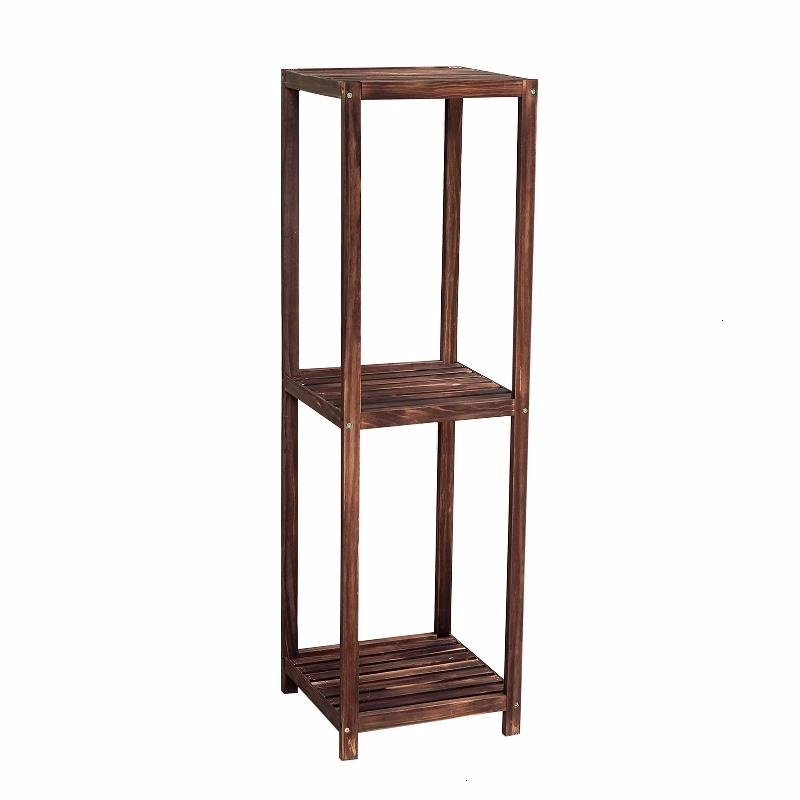 Estanteria Plantas Wooden Shelves For Huerto Urbano Madera Wood Table Stojak Na Kwiaty Balcony Outdoor Flower Stand Plant Shelf