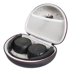 Caso duro para jbl t450bt/500bt sem fio fones de ouvido caixa caso transporte portátil armazenamento capa para jbl t450bt fones de ouvido