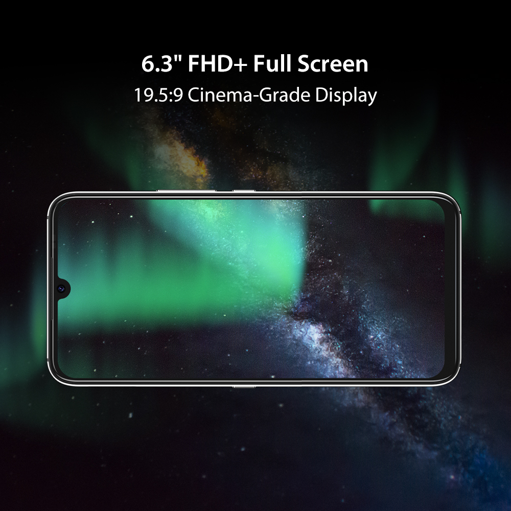 UMIDIGI A9 Pro SmartPhone Unlocked 32/48MP Quad Camera 24MP Selfie Camera 4GB 64GB/6GB 128GB Helio P60 6.3\