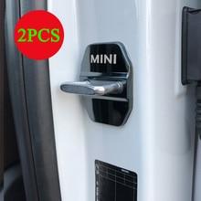 2x для Mini Cooper дверной замок Защитная крышка F54 F56 F55 F60 R60 R61 автомобильные аксессуары дверной замок Крышка эмблема значок наклейки