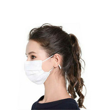 20/40/60Pcs 3-Ply Anti-Dust Disposable Salon Earloop Face Mouth Masks White Safety Masks PM2.5 Influenza Bacterial