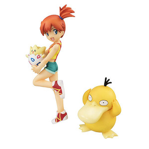 Image 2 - Takara Tomy Pokemon pikachu Misty Psyduck Togepi anime action & spielzeug figuren modell spielzeug für kinder