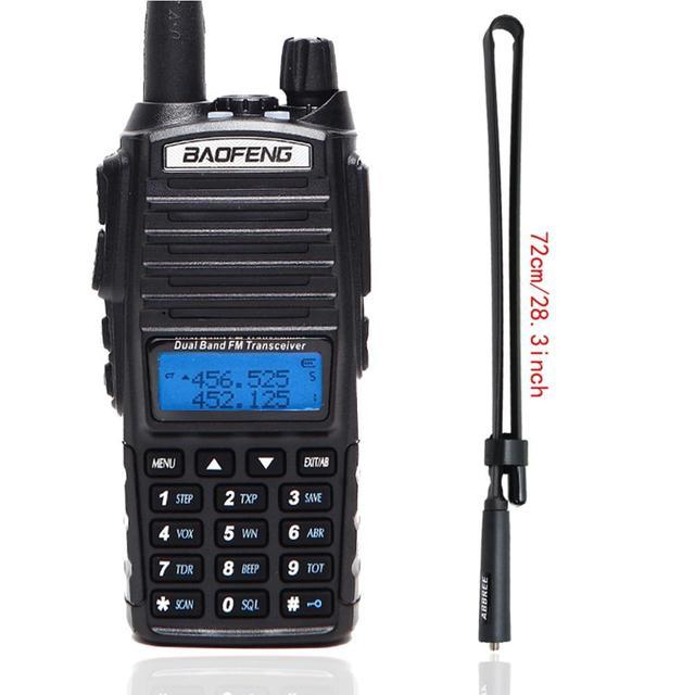 Baofeng UV 82 Draagbare Radio UV82 5W Walkie Talkie Vhf/Uhf Dual Band Pofung Uv 82 Cb Ham Amateur twee Manier Radio Zender