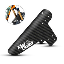 8 Colors Bicycle Fenders Bike Mudguard Carbon Fiber Front /Rear MTB Mountain Bike Wings Mud Guard Cycling Fix Gear Accessories