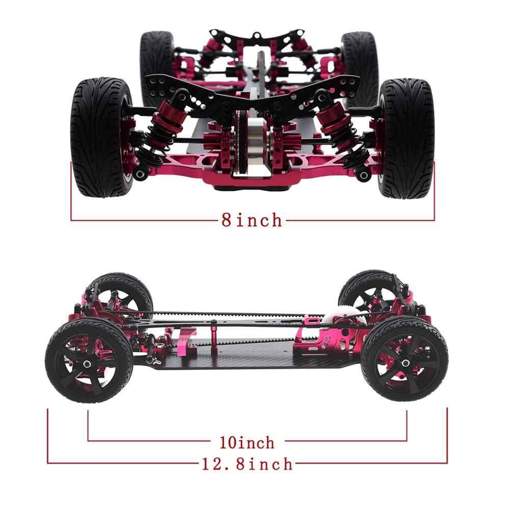 Kohlefaser Chassis Teller Set für SAKURA D4 AWD RWD 1//10 Drift CS Racing Car