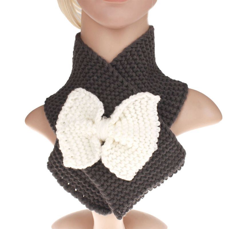 Baby Kids Boy Girls Winter Warm Scarf Snood Shawl Ring Neck Wraps Scarves Warmer