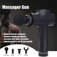 Vibrating Therapy Device Massage Body Muscles Crossfit Shoulders 10 Mm 3 Files Bodybuilding Yoga Percussive Massager Gun Knees